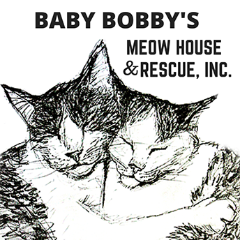 Baby Bobby's Meow House & Rescue Inc. Cat Drawing